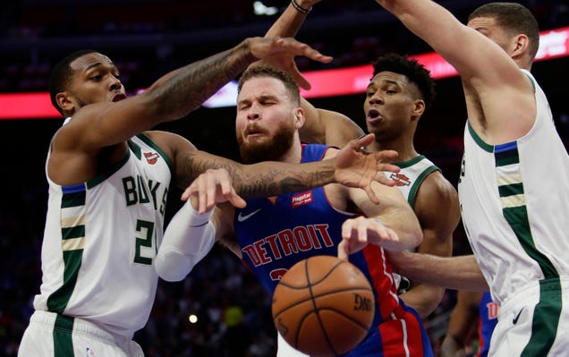 Bucks Take Pistons' Best Punch, Then Coolly Dropkick Them Into A Toilet