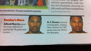 Illustration for article titled Jason Campbell Played For Three Teams Yesterday