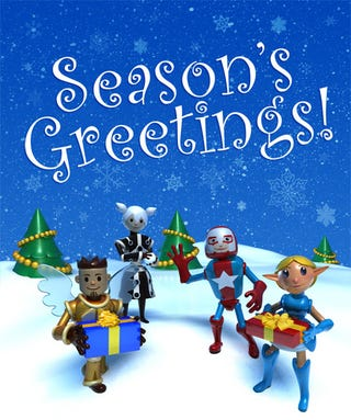 Illustration for article titled NCsoft West's Christmas Greeting Is Adorable