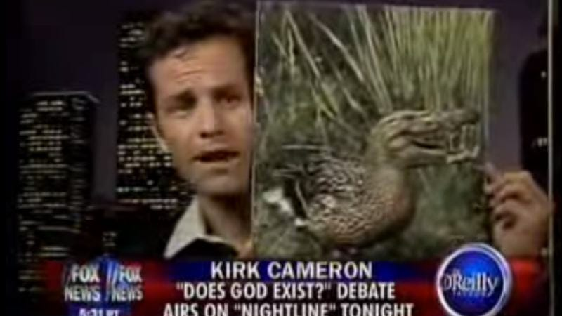 Illustration for article titled Kirk Cameron probably thrilled he's featured in gay erotic novella