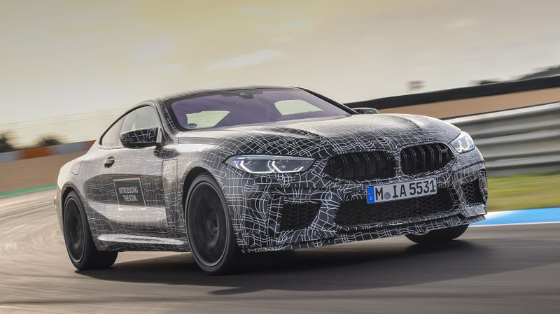 Illustration for article titled The Upcoming BMW M8 Could Have Over 600 HP
