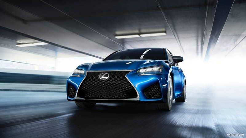 Illustration for article titled 2016 Lexus GS F Sedan Revealed Ahead Of Detroit Debut
