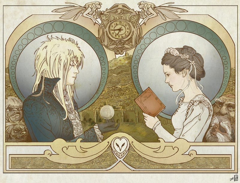 Illustration for article titled Dance, Magic Dance: A Treasury of Awesome Labyrinth Fan Art