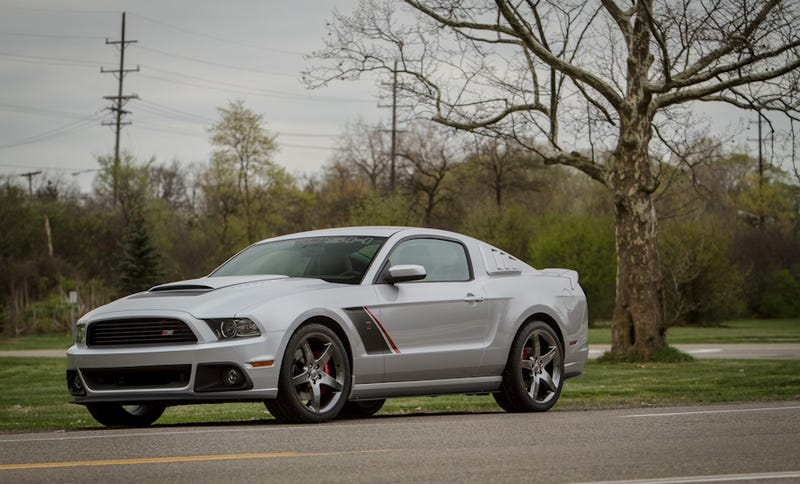 Illustration for article titled 2013 Roush Stage 3 Mustang: Press Photos