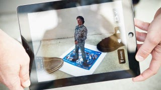 Illustration for article titled Augmented Reality Avatar James May Is Your New Museum Buddy