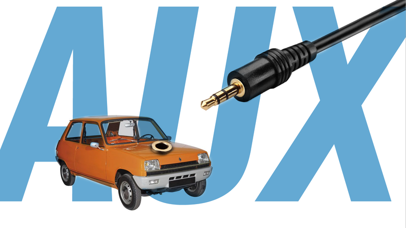 Illustration for article titled Make Auxiliary Cord Inputs Mandatory For Every Car
