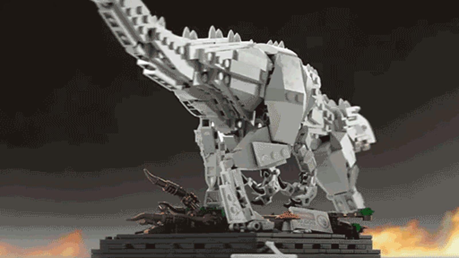 Let's Help This Lego Jurassic World Indominus Rex Set Get