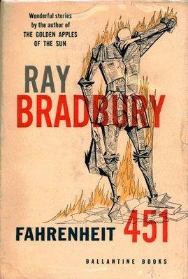 "Illustration for article titled Literary Corner: ""Fahrenheit 451"""