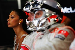 Illustration for article titled Yay! No More Nicole Scherzinger At Formula One Races