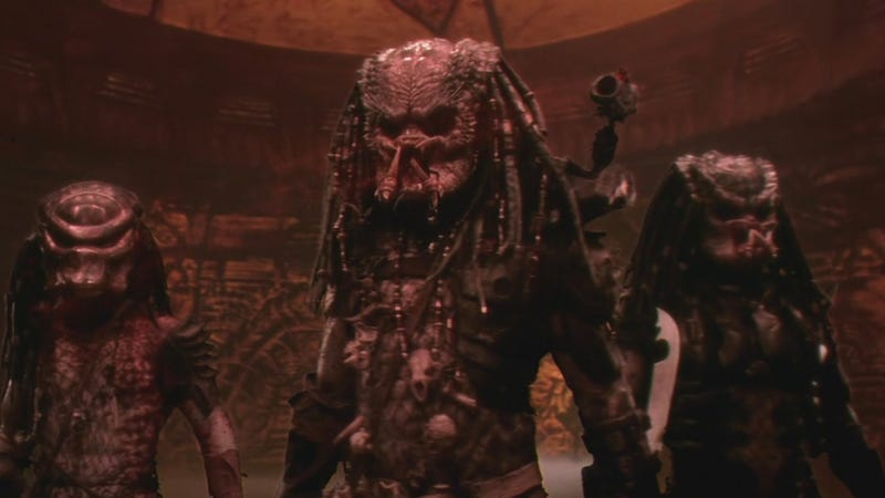 Here's an image from Predator 2 since we don't yet have a good one from The Predator.