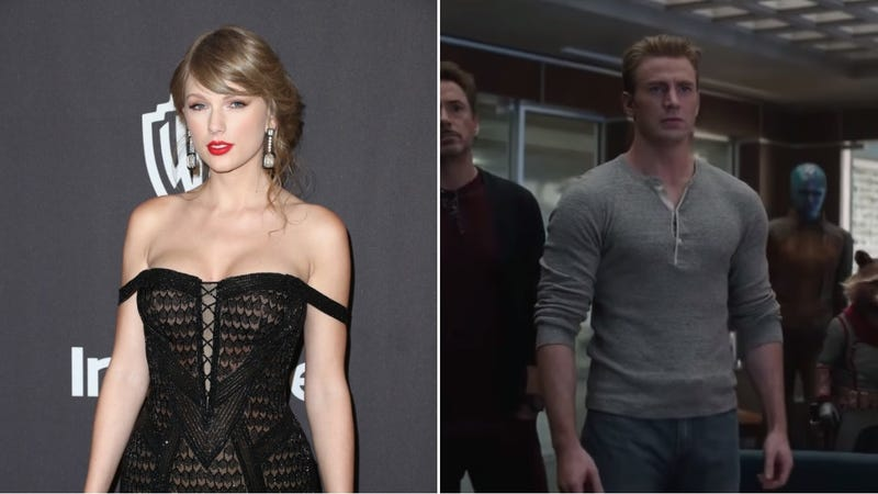 Illustration for article titled Taylor Swift is really excited for Avengers: Endgame, unless she's just announcing new music