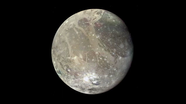 Water Vapor Potentially Detected in the Atmosphere of Ganymede, Biggest Moon in the Solar System