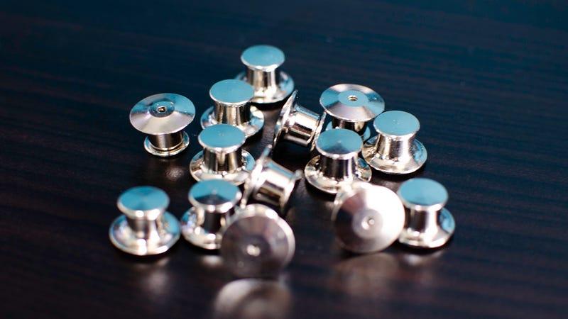 Metal Pin Backs