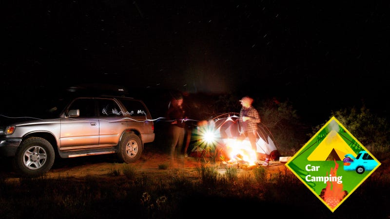 Illustration for article titled Nine Items To Create the Ultimate Car Camping Kit