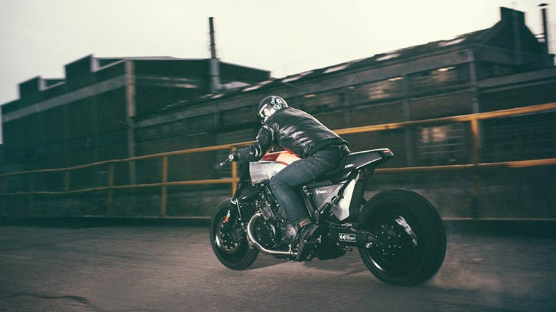 the yamaha infrared is a cafe racer'd v-max freak