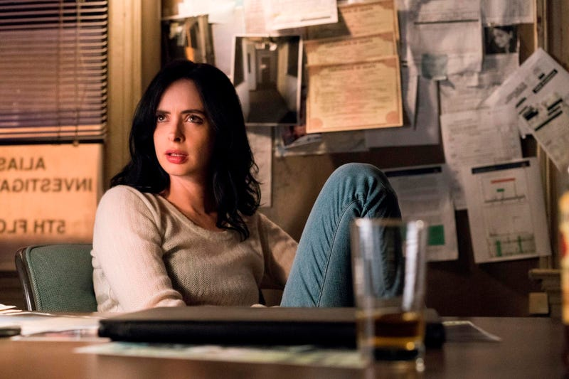 Krysten Ritter stars in Marvel's Jessica Jones (Photo: Netflix)