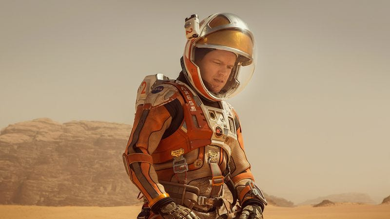 Illustration for article titled The Martian returns Ridley Scott to space, and Michael Moore takes a world tour