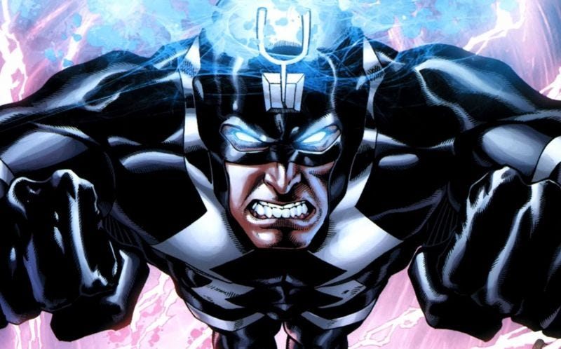 Illustration for article titled Here's a Thought: Why Not Have Black Bolt Use Real Sign Language on Inhumans?