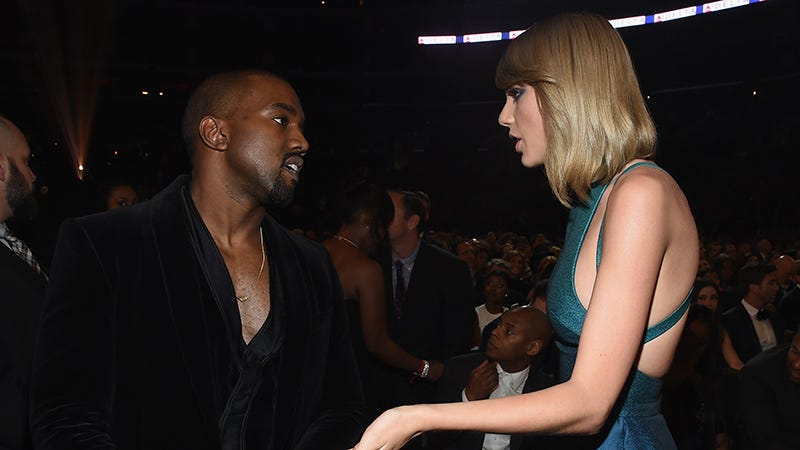 Illustration for article titled Taylor Swift: I Didn't Know Kanye Called Me a 'Bitch' in His New Song. Kanye: She's Lying