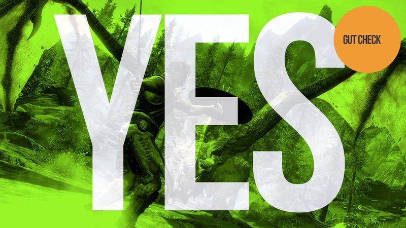 Illustration for article titled Should You Buy The Elder Scrolls V: Skyrim? Yes.