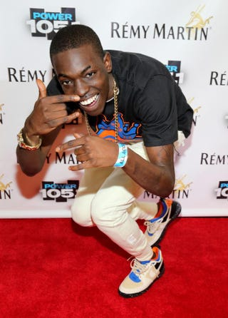 Bobby Shmurda attends Power 105.1's Powerhouse 2014 event at Brooklyn, N.Y.'s Barclays Center on Oct. 30, 2014. Neilson Barnard/Getty Images for Power 105.1
