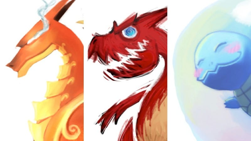Illustration for article titled One Great Pokémon Illustration Per Day. Here Are The First Seven.