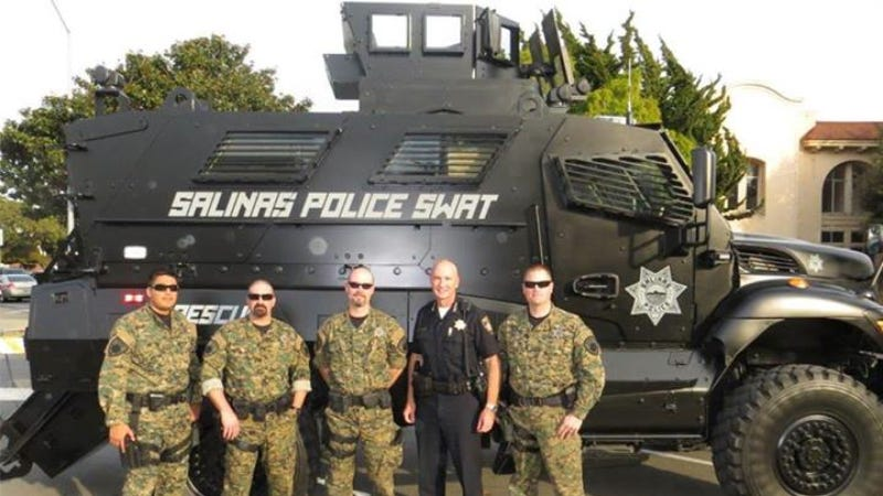 Illustration for article titled Police Acquisition Of Army Vehicle Enrages Internet Commenters