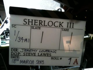 Illustration for article titled Sherlock Series 3 starts filming today!