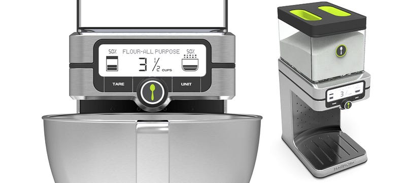 Illustration for article titled An Ingredient Measuring Machine Is Like Insurance For Baking
