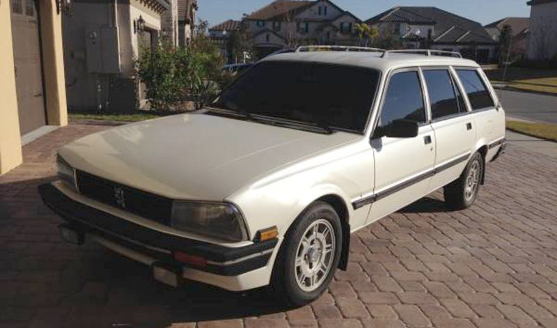 Illustration for article titled For $4,950, This 1988 Peugeot 505 SW Could Be Your Lion in Spring