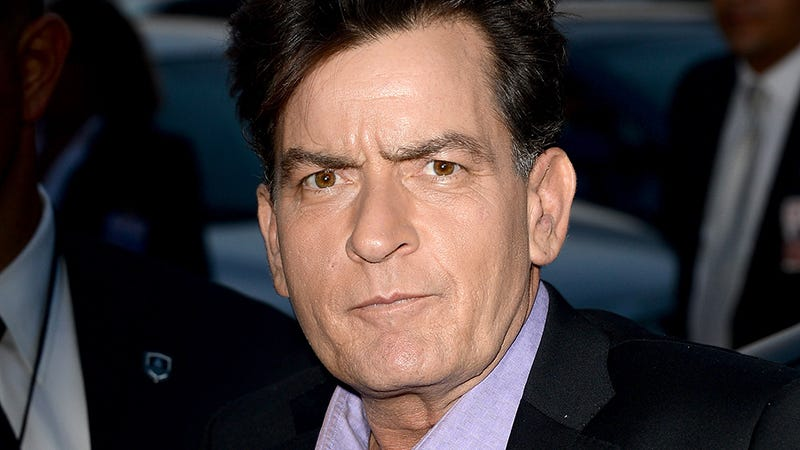 Illustration for article titled Charlie Sheen Reportedly Told All of Us About His HIV Diagnosis Before Telling His Kids