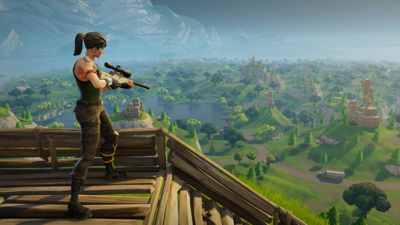 Illustration for article titled University announces Fortnite scholarship, gives teens convenient excuse for playing in class