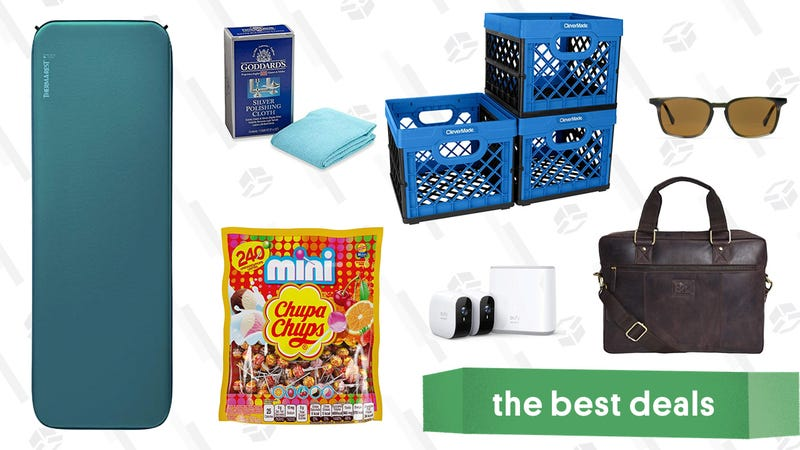 Illustration for article titled Wednesday's Best Deals: EufyCam Starter Kit, Chupa Chups Lollipops, CleverMade Storage and More