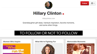 Illustration for article titled Hillary Clinton's Pinterest Is THE Spot For 'Granddaughter Gift Ideas'