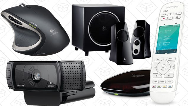 Upgrade Your Mouse, Keyboard, Speakers, and More In Today's Logitech Gold Box