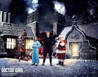 Illustration for article titled The New Doctor Who Christmas Special Has A Title And First Promo Pic