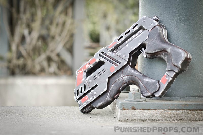 Illustration for article titled In Case You've Ever Wanted to Own One of Mass Effect 3's Punchy Heavy Pistols