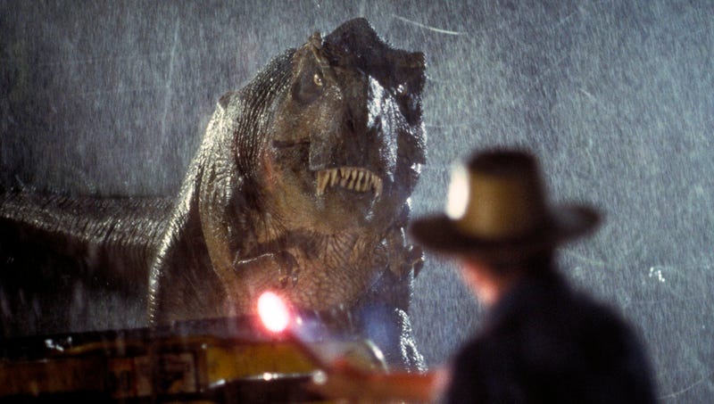 Illustration for article titled 'Jurassic Park' Franchise Turns 25