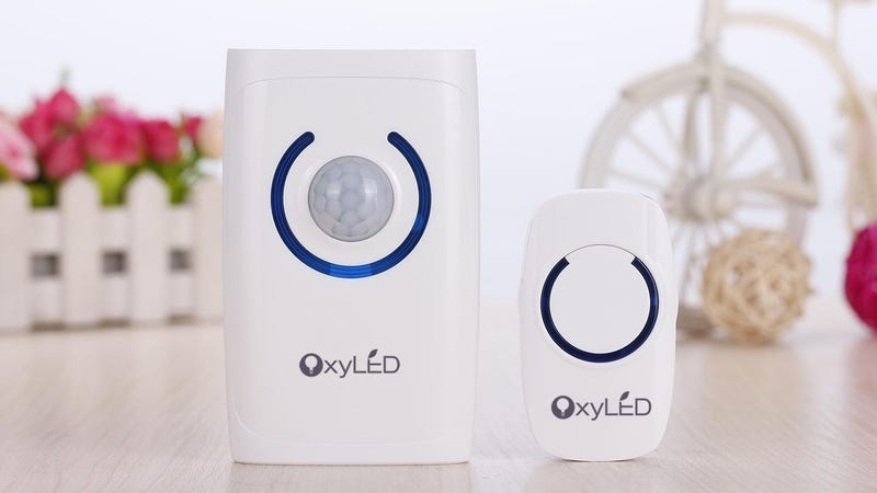 OxyLED D01 Doorbell Kit, $10 with code OXYD0199