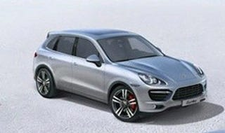 Illustration for article titled 2011 Porsche Cayenne: Geneva-Bound And Leaked Out