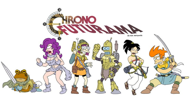 Illustration for article titled Chrono Trigger Meets Futurama In A Moment of Spacy Serendipity
