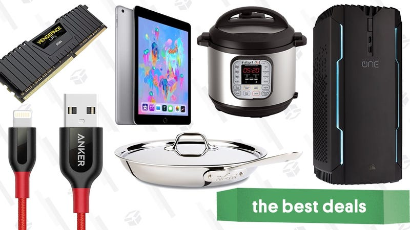 Illustration for article titled Thursday's Best Deals: All-Clad, Instant Pots, Computer Components, and More
