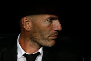 Illustration for article titled Zinedine Zidane Pretends He Doesn't Manage Team He Obviously Manages