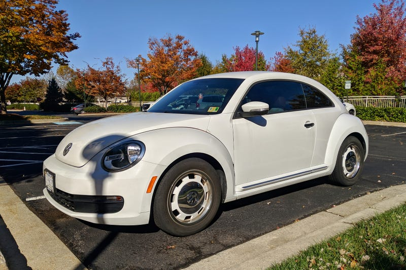 Illustration for article titled VW's Beetle steelies were an inspired move