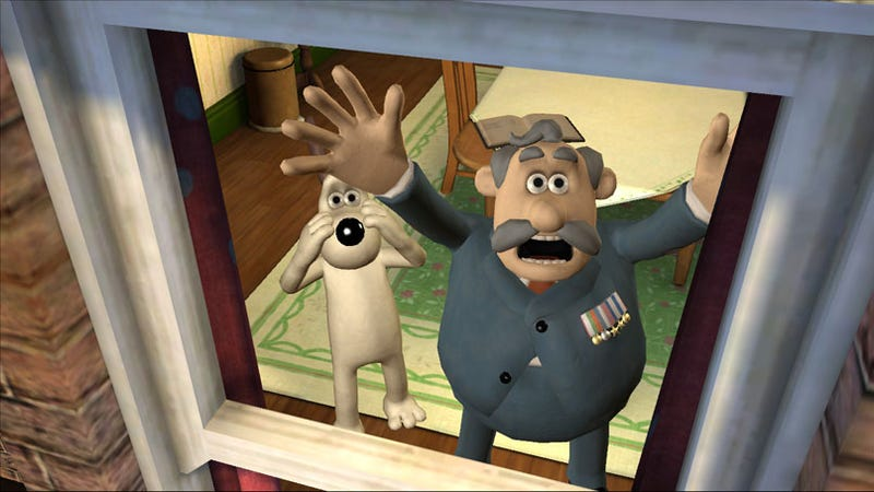 Illustration for article titled Telltalle Debuts On XBLA With Wallace And Gromit