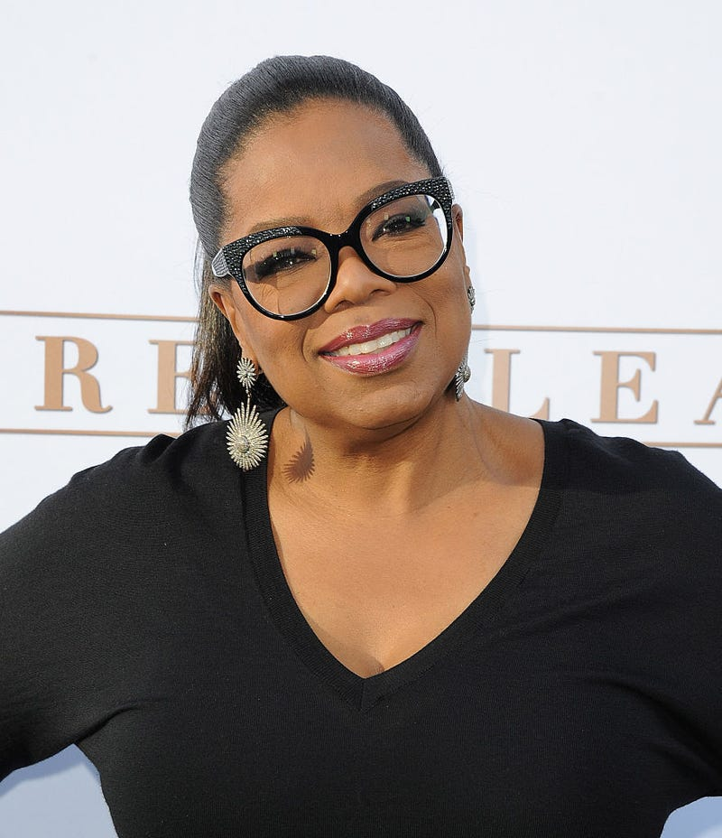 Oprah Winfrey arrives at the premiere of OWN's Greenleaf at the Lot in West Hollywood, Calif., on June 15, 2016.Angela Weiss/Getty Images