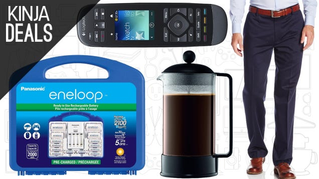 Today's Best Deals: Fancy Pants, Rechargeable Batteries, and More