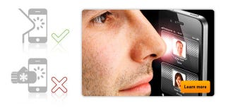 Illustration for article titled NoseDial Helps You Make Calls with Your Nose When Your Fingers Are Unavailable