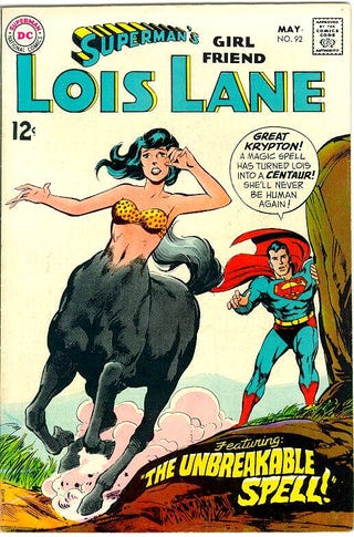 """Illustration for article titled """"Superman's Girlfriend, Lois Lane"""" was one kooky comic..."""