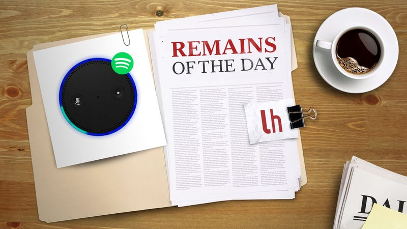 Illustration for article titled Remains of the Day: Amazon Echo Gets Spotify